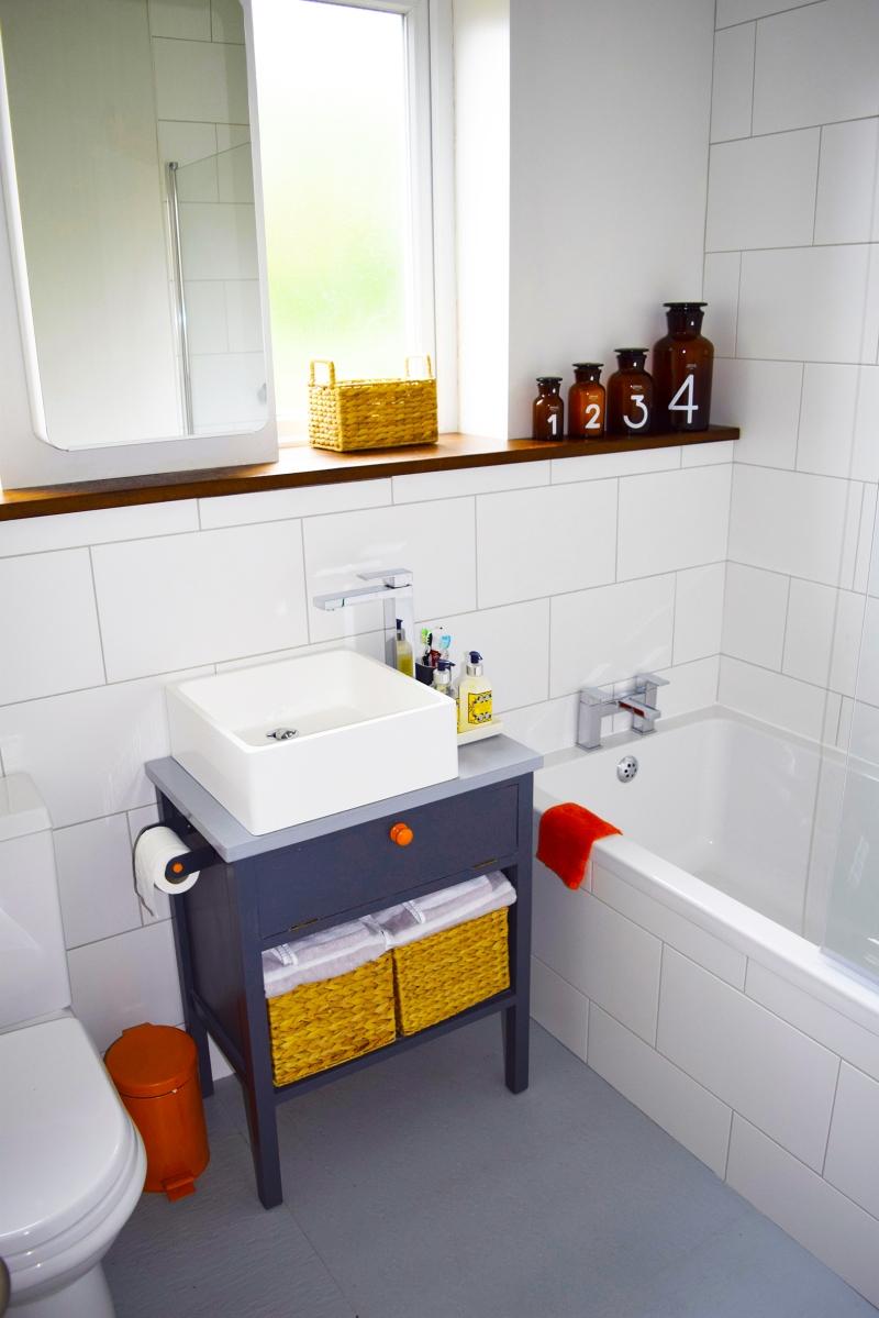 My Home: Bathroom on a budget – All round creative junkie