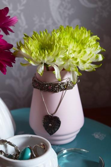 Emmaus glass vase
